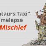"""""""Centaurs Taxi"""" Mischief Painting (Commented Timelapse)"""