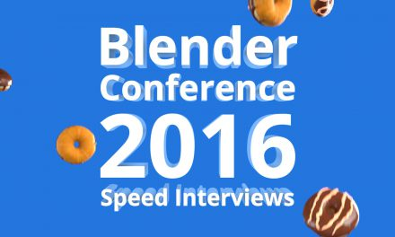 Blender Conference 2016 Speed Interviews