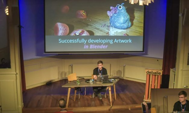 Presentation: Successfully developing Artwork in Blender
