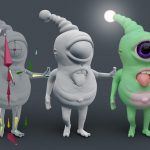 Workshop: 3D Charakter Design in Blender | Hannover, Germany (German)