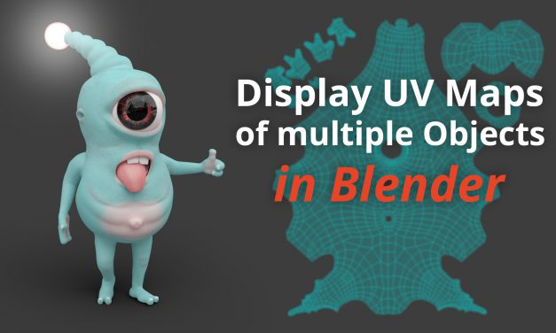 Display UV Maps of multiple Objects (Tutorial)