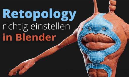 Retopology richtig einstellen in Blender (Tutorial)