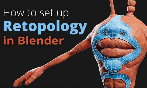 How to set up Retopology in Blender (Tutorial)