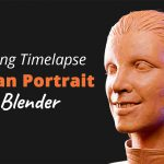 Woman Portrait – Blender Sculpting Timelapse