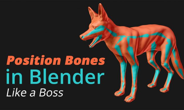Position Bones in Blender like a Boss