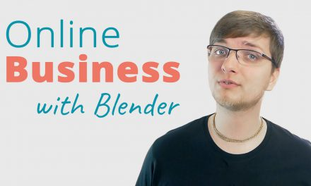 Running an Online Business with Blender Training