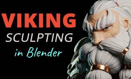 Viking Character Sculpting – Blender Timelapse