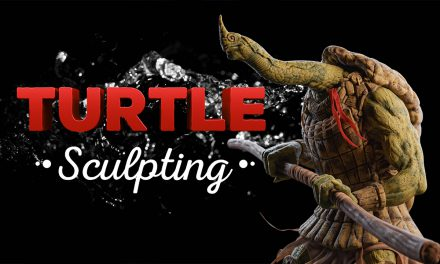 Turtle Character Sculpting – Blender Timelapse