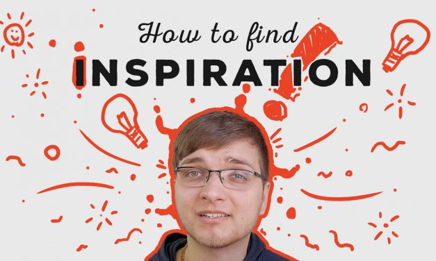 How to find Inspiration for your Art