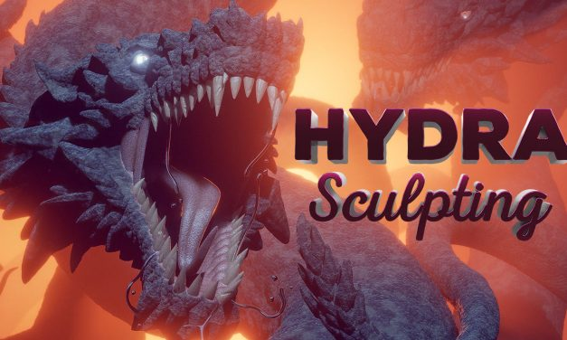 Create a Hydra in Blender (+ EEVEE Demo)