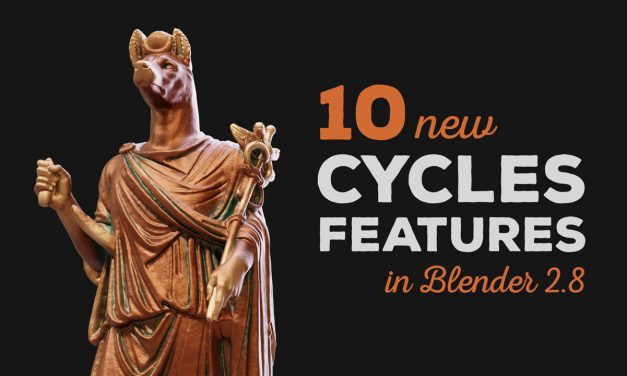 10 New Cycles Features in Blender 2.8